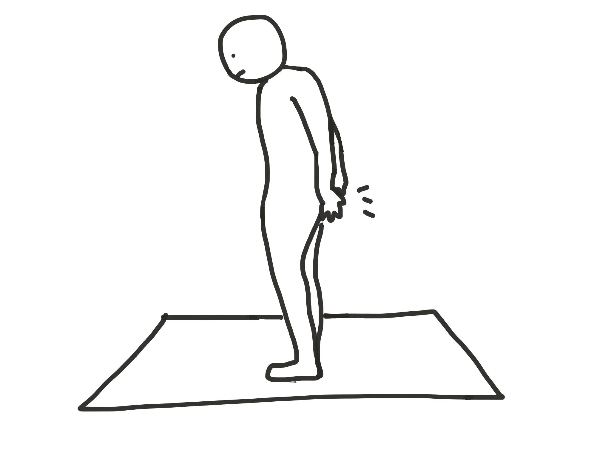 足首の柔軟性テスト